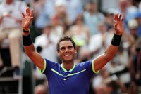 Rafael Nadal coasted to a record 10th French Open title on Sunday, demolishing Stan Wawrinka in a brutally one-sided final which also earned the Spaniard a 15th Grand Slam crown.  Nadal, 31,...