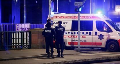 Shooting kills 3, injures 12 in France's Strasbourg