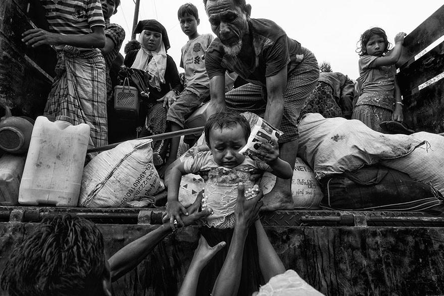 Rohingya Exodus, Bangladesh - Honorable Mention, General Monochrome