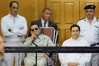 Egyptian court orders arrest of toppled strongman Mubarak's two sons over stock market manipulation
