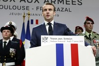France to stay 'militarily engaged' in Mideast: Macron