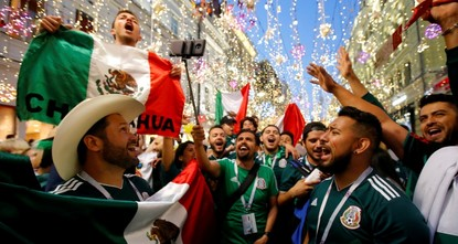 Overjoyed Mexican fans set off earthquake sensors with celebrations