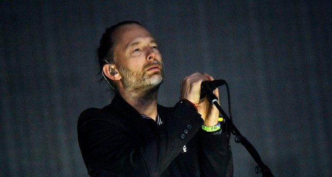 Radiohead performs on the Pyramid Stage at Worthy Farm in Somerset during the Glastonbury Festival in Britain on June 23, 2017. REUTERS Photo