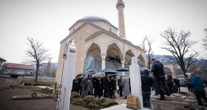 Reconstruction of Bosnia's Alaca mosque nearly done