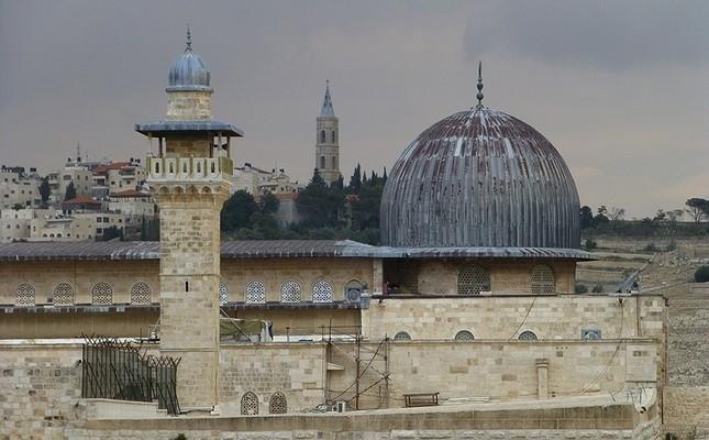 The Al-Aqsa mosque File photo