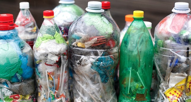Turkey recycles more than half of plastic bottles in market