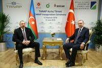 Прошла церемония открытия газопровода TANAP