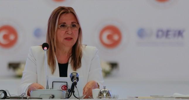 وزيرة التجارة التركية: نرغب بامتلاك حصة أكبر بأسواق بريطانيا