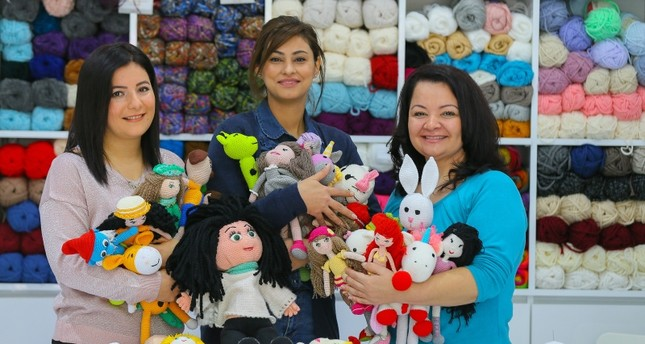 Turkish moms crochet organic toys for kids with cancer