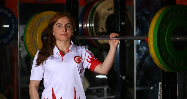 Döndü Yeşilyurt has won titles both in weightlifting and judo in only a couple of years after she took up both sports.
