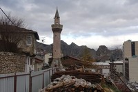 15th-century minaret stands tall as mosque undergoes third reconstruction