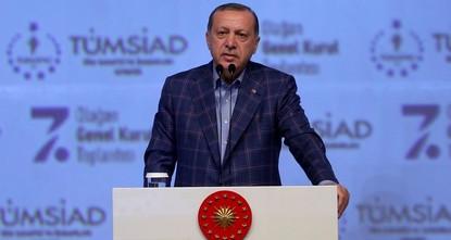 pPräsident Recep Tayyip Erdoğan stellte am Samstag noch einmal ausdrücklich klar, dass die Türkei die Anwesenheit der PKK-Terrororganisation und der zugehörigen Gruppen in Region Sindschar im...