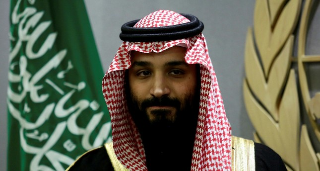 Saudi Arabia's Crown Prince Mohammed bin Salman Al Saud is seen during a meeting with U.N Secretary-General Antonio Guterres at the United Nations headquarters in the Manhattan borough of New York City, New York, U.S. March 27, 2018. Reuters Photo