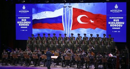 Red Army Choir to give free concerts in Istanbul
