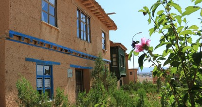 Artists' getaway: A village and its adobe houses
