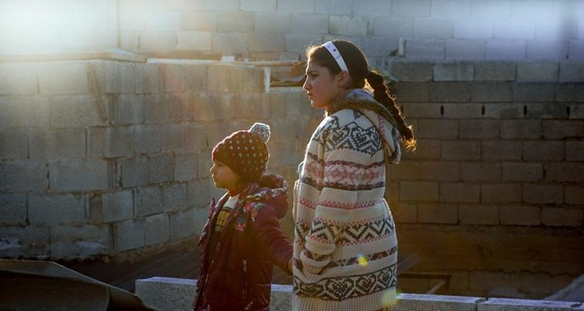 A still from Aida Begic's Never Leave Me