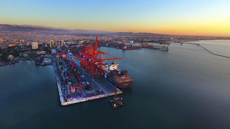 Port of Mersin, southern Turkey. (File Photo)