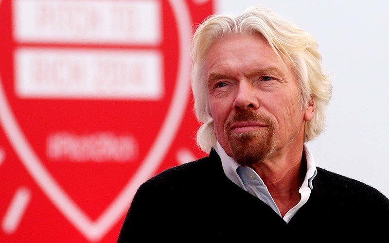 Sir Richard Branson hosts Pitch2Rich event at his home in Oxfordshire, where six entrepreneurs had the opportunity to 'Pitch to Rich' where they could win investment money and mentoring. (Getty Images)