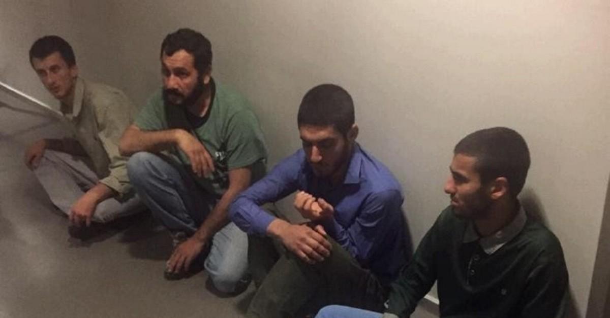 PKK terrorists nabbed in Sinjar (IHA Photo)