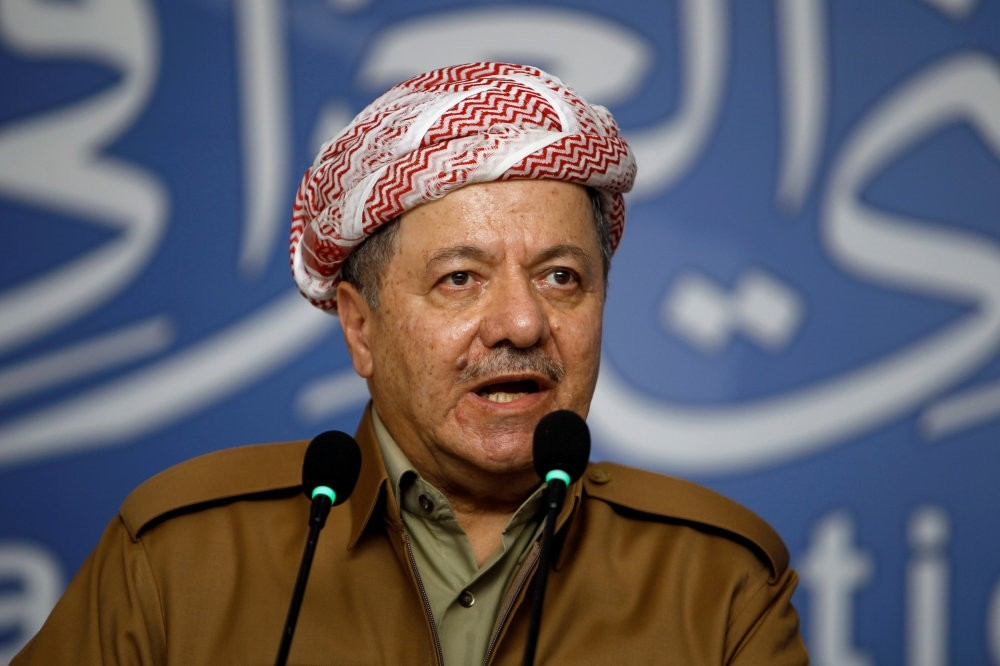 President of Iraqi Kurdish Regional Government Massoud Barzani.