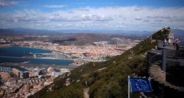 EU Brexit draft gives power to Spain over Gibraltar