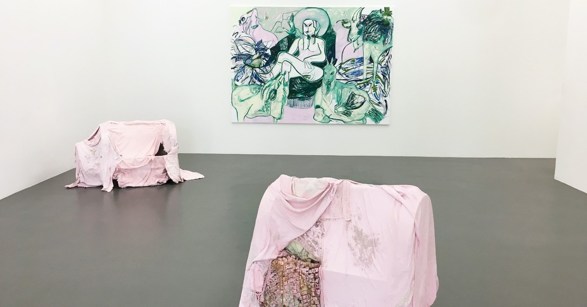 German-born artist Melike Kara's solo exhibition entitled ,New Work,, centering on the stories that she heard from her grandmother, can be visited until Aug. 25 at the Witte de With Center for Contemporary Art in Rotterdam.