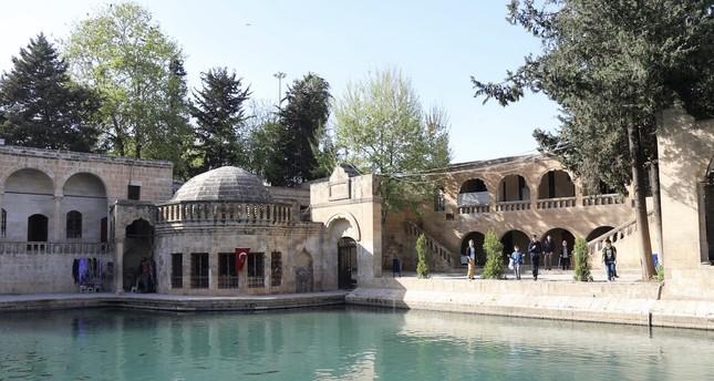 Balıklıgöl or Pool of Abraham in Şanlıurfa is believed to be where Abraham was thrown into the fire by Nimrod.