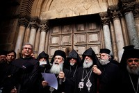 Christian sects shut down famous Jerusalem church to protest taxes, proposed land bill