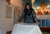 Muslim woman maintains upkeep of church 'for God's blessing'