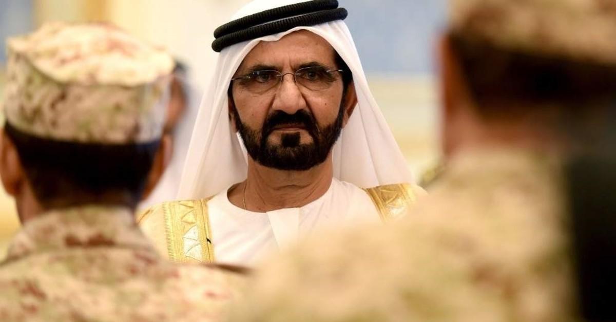 Sheikh Mohammed bin Rashid al-Maktoum, Dubai's ruler and prime minister of the United Arab Emirates (UAE) attends a summit, Riyadh, May 5, 2015. (AFP Photo)