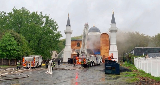 Turkish mosque in US suffers serious damage after anti-Muslim arson