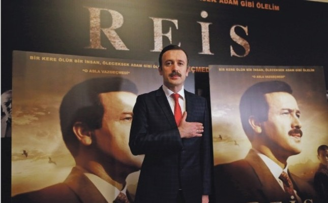 "Turkish actor Reha Beyoğlu portrayed Turkey's President, Recep Tayyip Erdoğan, in the film titled ""Reis."""
