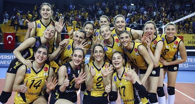 فريق وقف بنك التركي يتأهل لنهائي أبطال أوروبا للسيدات للكرة الطائرة