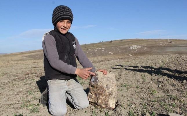 Turkey's third-largest meteorite found in Çorum