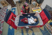 Around 180,000 Syrians born in the past 5 years in Turkey as it remains rare safe haven in Europe