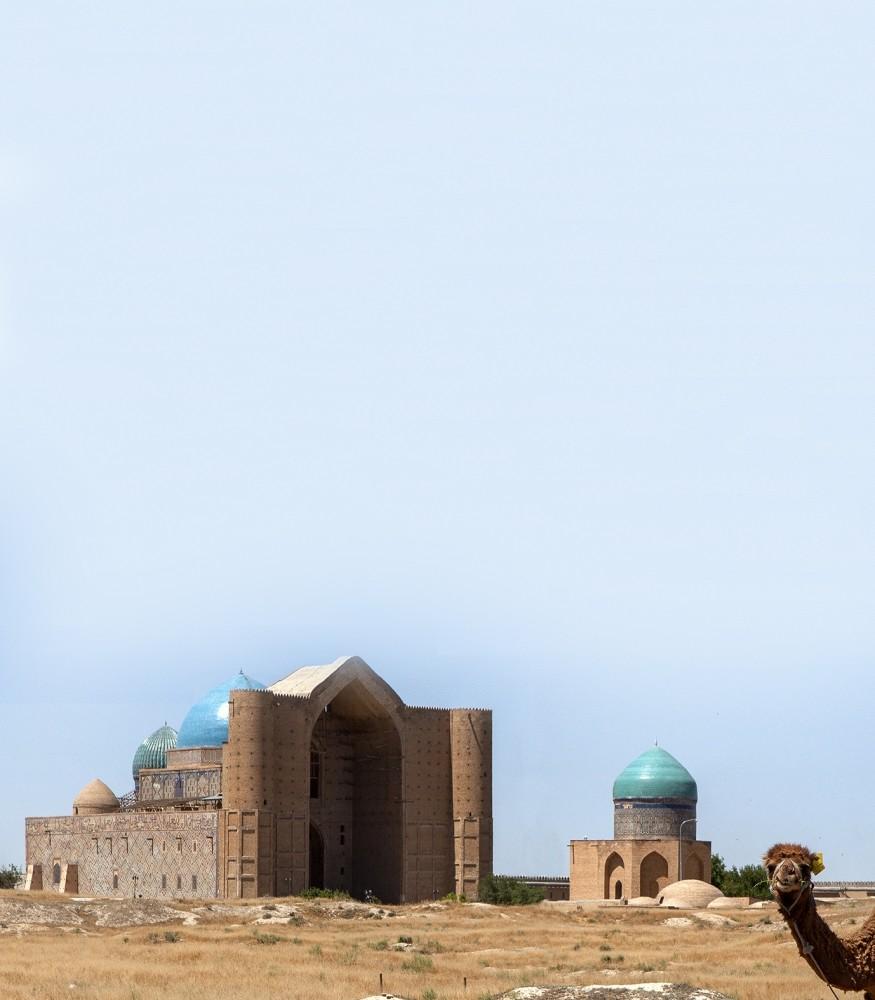 Tomb of Hodja Ahmad Yasawi, Kazakhstan.