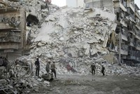Aleppo still under heavy attack amid faltering efforts by EU, West