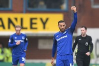 Tosun hopes to shine with Everton's attacking quality
