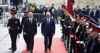 pPrime Minister Binali Yıldırım said on Friday that Turkey expects stronger ties with the EU under Malta's presidency of the Council of the European Union during a visit to the Mediterranean island...