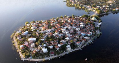 pThe Gölyazı neighborhood, located near Lake Ulubat in Bursa's Nilüfer district, sees around 10,000 local and international tourists over weekends./p  pRegistered among the 30 most beautiful...
