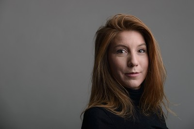 This is a Dec. 28, 2015 handout photo portrait of the Swedish journalist Kim Wall taken in Trelleborg, Sweeden (AP Photo)