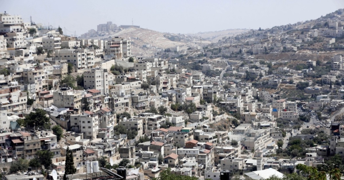 This Monday, Sept. 9, 2019 photo, shows a view of the east Jerusalem neighborhood of Silwan. (AP Photo)