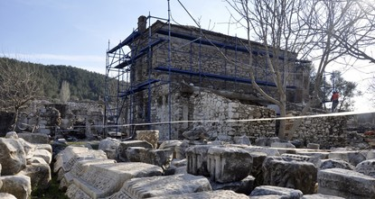 Known as the hanımağa (lady agha) house and included on the tentative UNESCO World Heritage List, Bılla House is set to become a tourist attraction after renovation. The building is located in the...