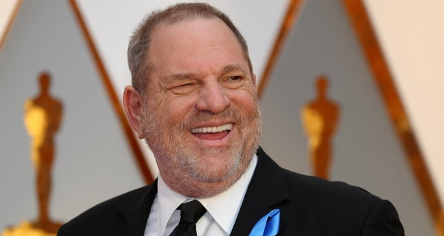 Harvey Weinstein arrives at the 89th Academy Awards in Hollywood, on Feb. 26.