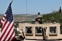 US troops withdrawing from Syria not permitted to stay, Iraq says