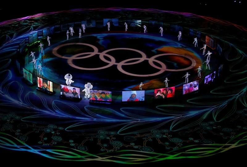 Pyeongchang 2018 Winter Olympics closing ceremony, Pyeongchang Olympic Stadium, South Kore, Feb. 25, 2018. (Reuters Photo)
