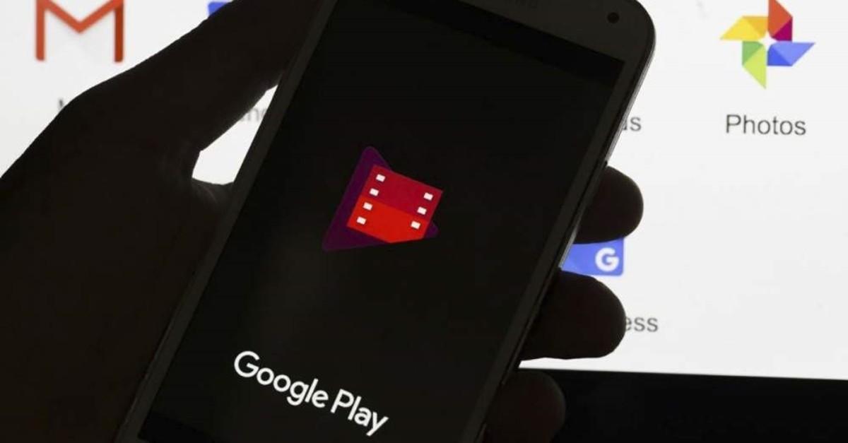 Google Play application seen displayed on mobile, Ankara, Turkey, July 17, 2018. (Photo by Murat Kaynak/Anadolu Agency/Getty Images)