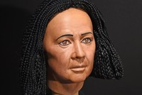 Reconstructed face of 4000-year-old Egyptian mummy on display in Germany