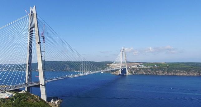 تركيا تحتفي غدًا بافتتاح أعرض جسر معلّق في العالم يصل شطري اسطنبول