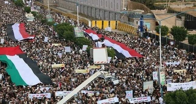اليمن .. تظاهرة للحوثيين لإحياء يوم القدس العالمي في صنعاء
